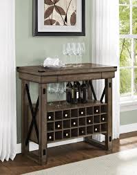 buffet with wine rack. Beautiful With Wine Rack Bar Cabinet Rustic Grey Buffet Serving Sideboard Expandable 24  Cubbies WineRackBarCabinet Throughout With