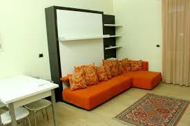space saving furniture toronto. Architecture Mesmerizing Murphy Bed With Sofa Black And White Oak Wood  Mixed Orange Fabric Corner Sectional Space Saving Furniture Toronto