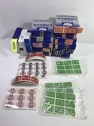 Huge Lot Of Medical Record Chart Labels Letters Holders
