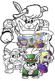 Mario Odyssey Broodals Coloring Pages Master Coloring Pages