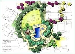 landscape architecture blueprints. Communal Landscape With Two Quarter Circle Lawns. Architecture Blueprints P