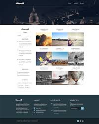 professional webtemplate professional free corporate web design template psd css author