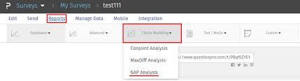 Gap Analysis - How It Works?   Surveyanalytics Help Document