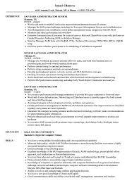 Sap Basis Resume SAP Basis Administrator Resume Samples Velvet Jobs 1