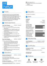 resume for front desk resume examples by real people front desk manager resume
