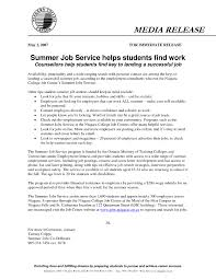 Cover Letter For College Student Looking Summer Job Lezincdc Com