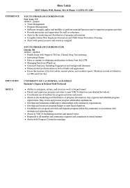 Best Solutions Of Coordinator Resume Sample With Additional