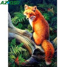 Aliexpress.com : Buy <b>AZQSD Diamond Embroidery Animal</b> Diamond ...