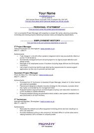 MonsterCom Resume Gorgeous Operations Manager Resume Sample Monster Com Resume Examples