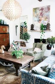 Judy Aldridge Gives Her Home A Boho Thrift Store Makeover Best Living Room  Plants Decor Ideas