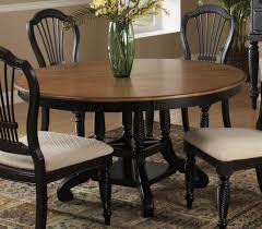hilale wilshire round oval dining table rubbed black