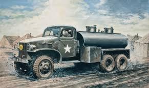 1:35 Italeri GMC 2 ½ Ton 6x6 Water Tank Truck - IT0201