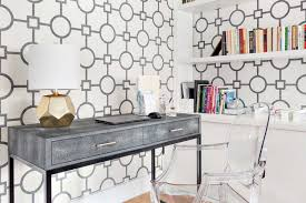 Bathroomgorgeous inspirational home office desks desk Table The Spruce 27 Surprisingly Stylish Small Home Office Ideas