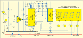 literature reviews on previous projects fromindintoconcept figure 2 circuit of microcontroller based tachometer