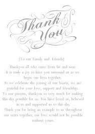 Wedding Thank You Note Wording | Related Post Of Writing Wedding ...