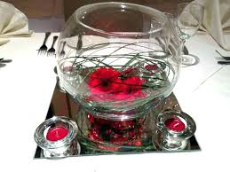 glass bowl centerpiece ideas gorgeous vase fish flower decorative bowls for centerpieces cen