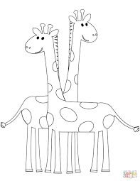 Perfect Giraffe Colouring Page Giraffes Coloring Pages Free 7