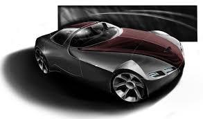 Cool car drawing wallpaper