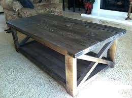x coffee table ana white rustic table creative of white rustic coffee table rustic coffee tables