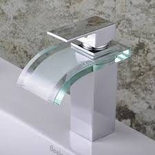 bathroom sinks and faucets. Bathroom Sinks Single Handle Chrome Waterfall Sink Faucet F 0822 Enjoyable Design Ideas And Faucets T