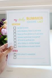Make A Chore List Chore Charts For Kids The Idea Room