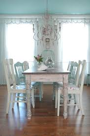 Shabby Chic dining room in blue and white | Shabby chic furniture ...