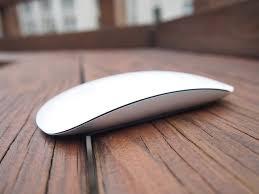 apple magic mouse. apple magic mouse 2 (side view)