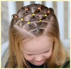 Lindas Ideas De Peinados Faciles Para Ni As Con Ligas En 12