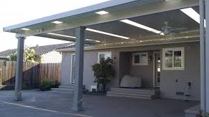 panel roof patio cover insulated