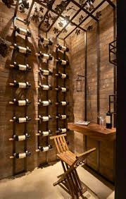 Adega   suporte   porta vinho em ferro ✓designer exclusivo e inovador ✓porta vinho de ferro para mesa, piso ou parede ✓agora ficou fácil decorar e organizar suas garrafas de vinho ✓confira! 10 Adegas Da Casacor 2016 Para Os Amantes De Vinho Casacor