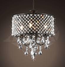rachelle 4 light round antique bronze brass crystal chandelier pendant 17 wx21