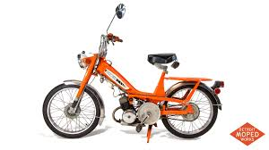 1977 orange motobecane 50tl sold detroit moped works