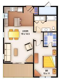 2 Bedroom Apartments With Washer And Dryer Floor Plans 76 Saint