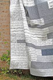 Text quilt (spoonflower fabric) by bespoke quilts (Love the fabric ... & Text quilt (spoonflower fabric) by bespoke quilts (Love the fabric! Adamdwight.com