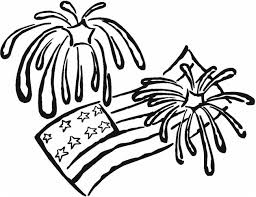 Small Picture 40760 4th of july fireworks flags coloring page Coloring Kids