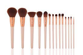 14 piece artist makeup brush set