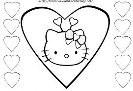 Nouveau Dessin Colorier Imprimer Gratuit Hello Kitty De St