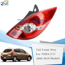2008 Nissan Versa Brake Light Bulb Zuk Rear Tail Light Brake Light For Nissan Tiida Latio Versa Hatchback C11 2008 2009 2010 For Dodge Trazo Taillamp Taillight