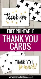 Free Printable Thank You Cards Freebies Printable Thank You