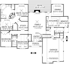 Plan W31022D Hill Country With Dual Suites  EARCHITECTURAL DesignDual Master Suite Home Plans