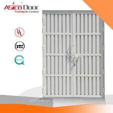 Sand Trap Louver Design Kahramaa Sand Trap Louver Door With Approved Hardware View