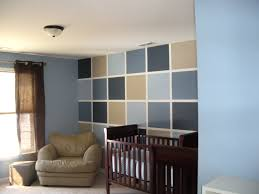 Cute Designs To Paint On Walls Love The Checkerboard Painted Wall And What A Cute Nursery