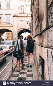 Czech streets blonde boat