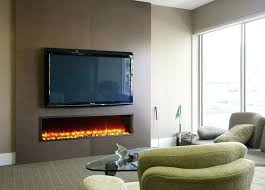 tv over electric fireplace together with wall mounted electric fireplace under mount vertical insert for prepare