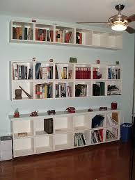 floating bookshelves ikea bookcase