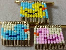 Beaded Safety Pin Designs Beaded Friendship Pins Safety Pin Jewelry Safety Pin