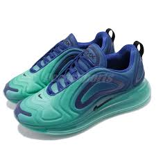 Details About Nike Air Max 720 Sea Forest Deep Royal Blue Men Running Shoes Sneaker Ao2924 400