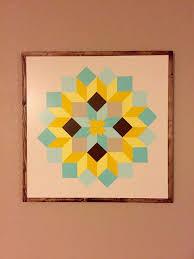 824 best Barn art images on Pinterest | Patterns, Adult crafts and ... & Framed Barn Quilt Adamdwight.com