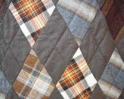 Masculine quilt | Etsy & Masculine, Brown, Wool, Lap, Quilt, Husband, Boyfriend, Son, Adamdwight.com