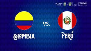 Colombia vs Peru ○ Full Match ○ 3rd ...